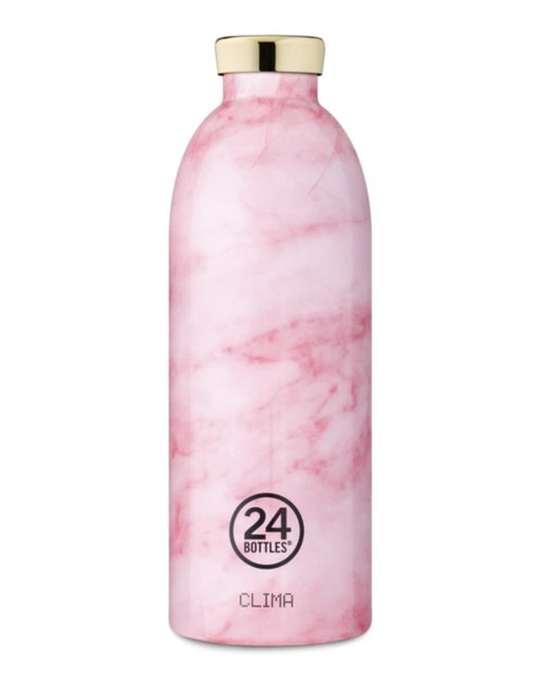 Clima Bottle pink marble