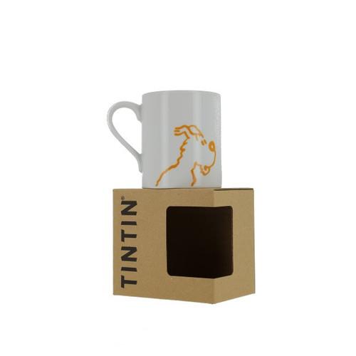 Tintin Mug Milou Outline