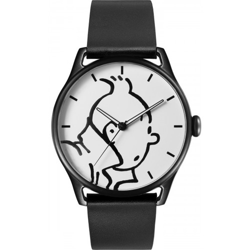 Tintin Watch Profile Classic black 40mm