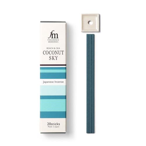 Fragrance Memories Coconut Sky Incense