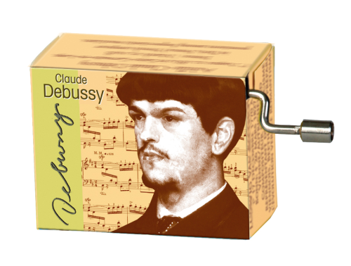 "Music Box Claude Debussy ""Clair de Lune"""