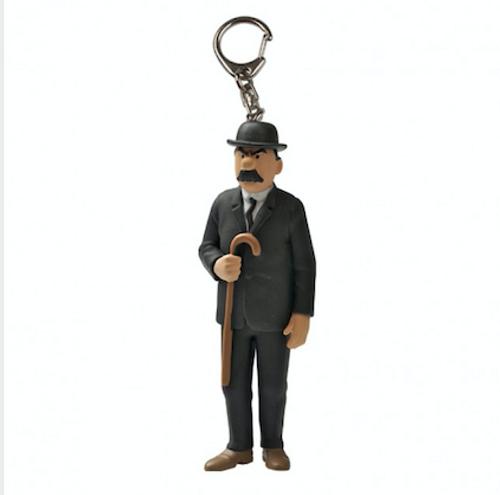 Tintin Figure Thomson Keyring
