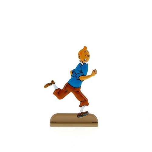 Tintin Metal Figure Running