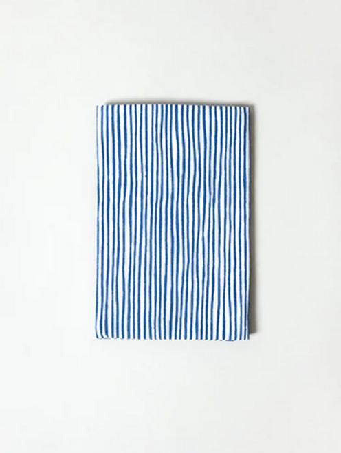 Kawamanu Tenugui Stripes blue/ Multi-purpose Japanese Cloth