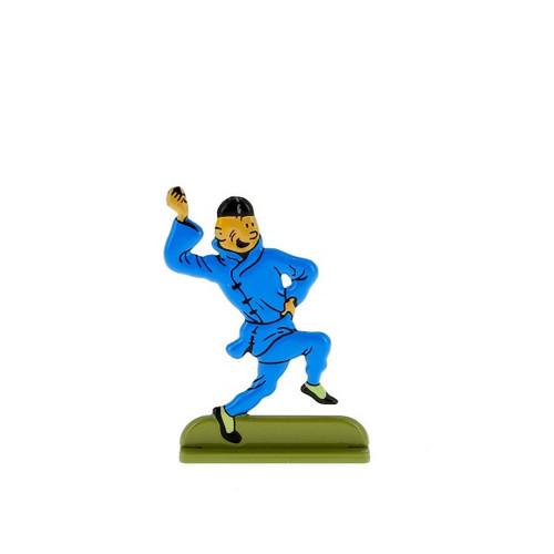 Tintin Metal Figure Dancing