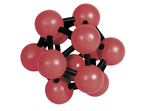 IQ Test Bamboo Puzzle / Atom red-black