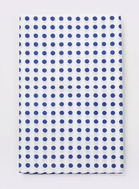 Kawamanu Tenugui Dots blue / Multi-purpose Japanese Cloth
