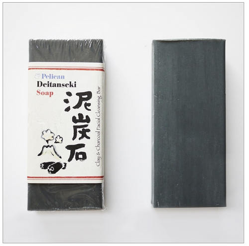 Clay and Charcoal Deitanseki Japanese Facial Cleansing Bar