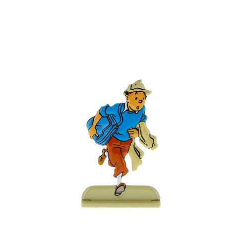 Tintin Metal Figure Escaping