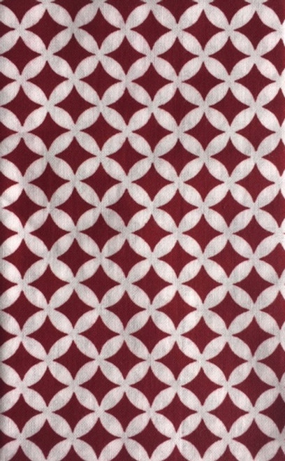 Kawamanu Tenugui Treasures burgundy / Multi-purpose Japanese Cloth