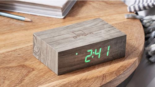 Flip Click Clock ash
