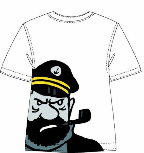 Tintin TShirt Haddock