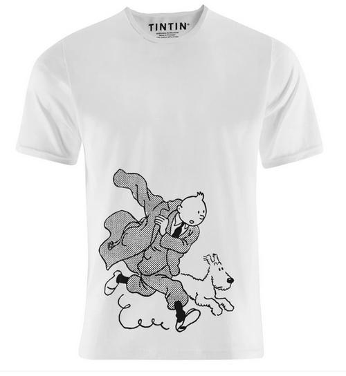 Tintin TShirt Running