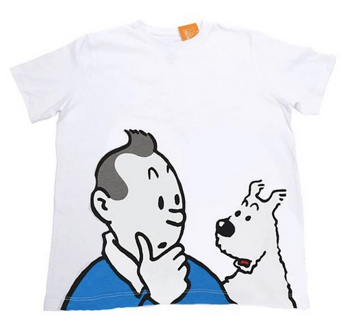 Tintin TShirt Kids white