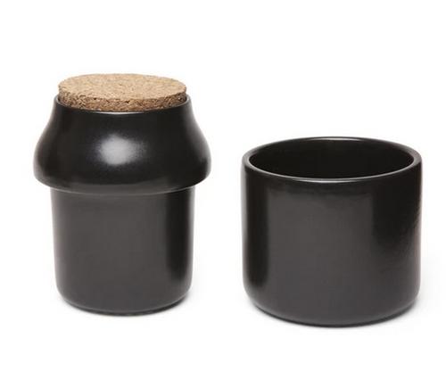Herb Grinder and Storage Jar