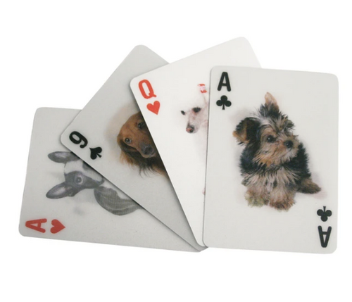 Dog Lenticular Playing Cards / 3D