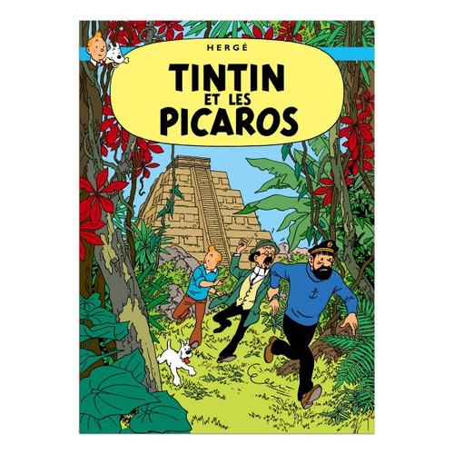 Tintin Poster Tintin et Les Picaros