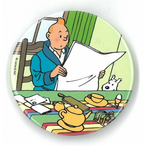 Tintin Magnet Breakfast round