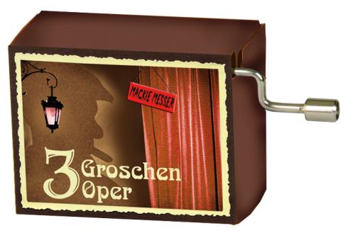 """Music Box Kurt Weill  The Threepenny Opera """"Mackie Messer"""" / Mack the Knife"""