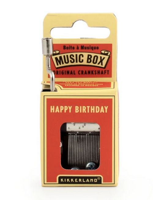 Music Box Happy Birthday