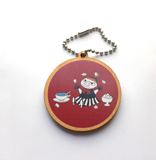 Moomin Wooden Tag Charm Little My