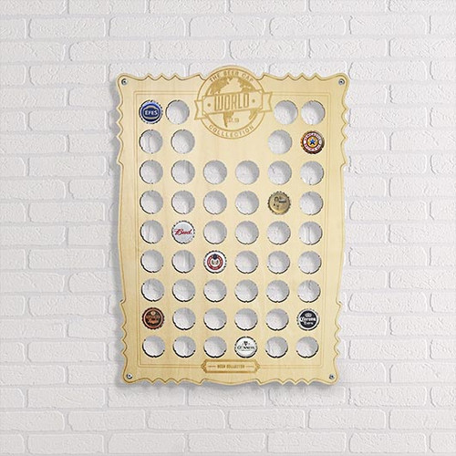Beer Cap Collection Holder