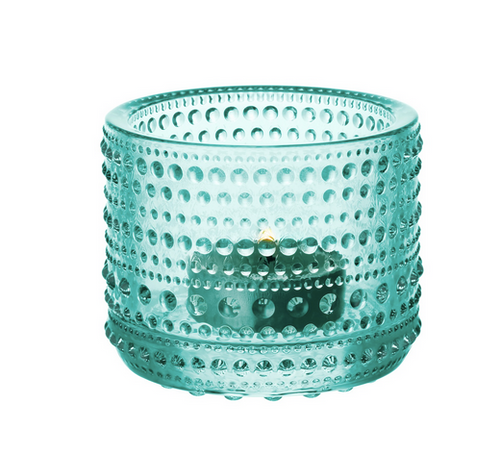 Kastehelmi Tealight water green