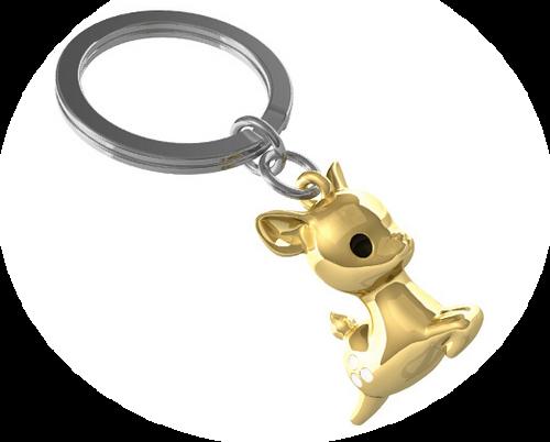 Deer Keyring