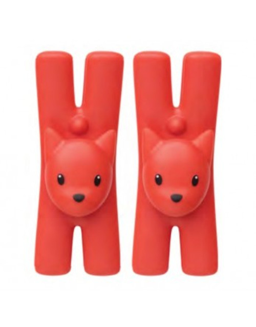 alessi-lampo-cat magnetic clip set 2 red1