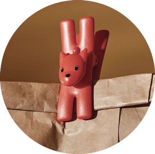 Lampo Cat red / Set of 2