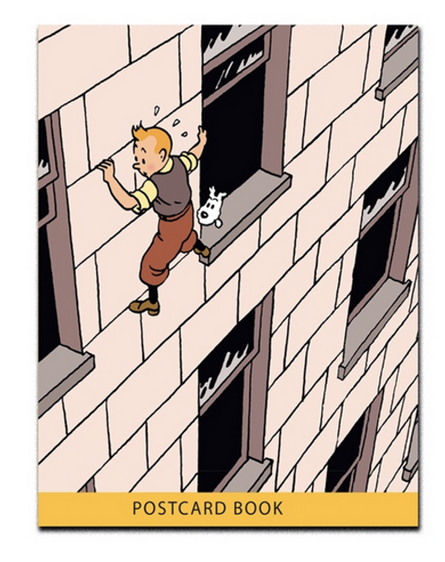 tintin postcards set front