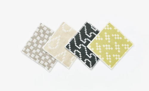 Bitmap Textiles Coasters colours