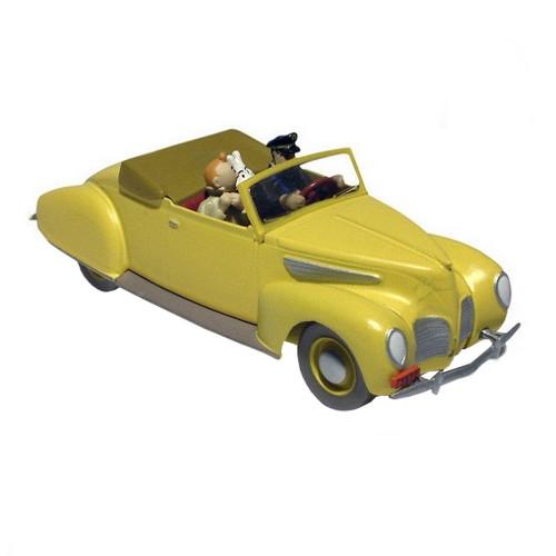 Tintin Car / The Haddock Convertible Lincoln Zephyr