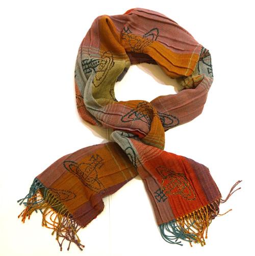 vivienne westwood ochre scarf 1