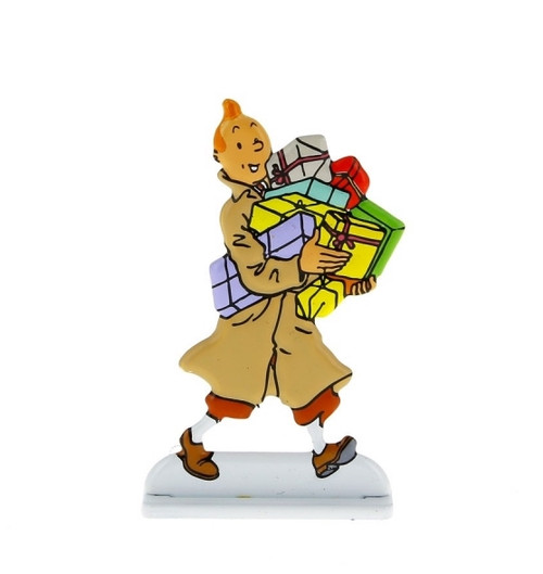 Tintin Metal Figure Gifts