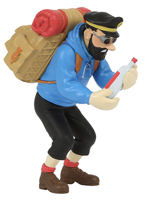 tintin captain haddock figure