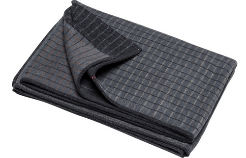 david fussenegger blanket cotton velvet grey 1