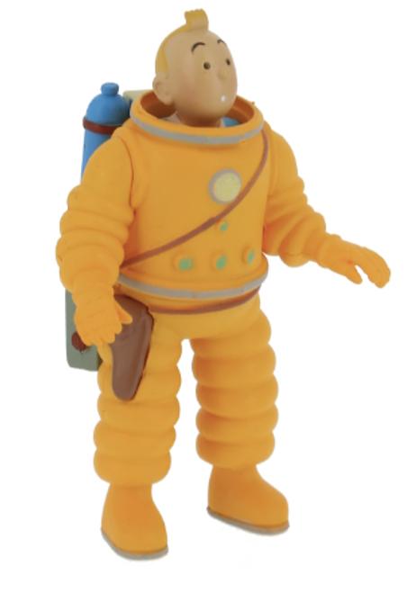 Tintin Figure Cosmonaute