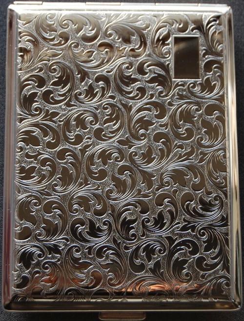 nickel pocket case leaf open