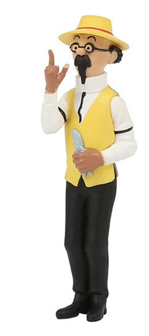 Tintin Figure Calculus the Gardener