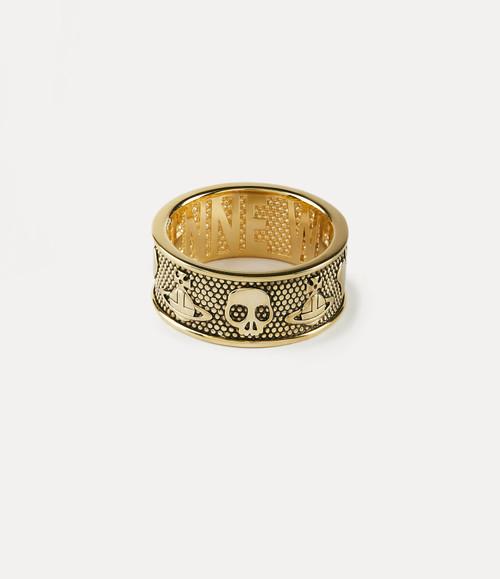 vivienne westwood kingston ring gold 1