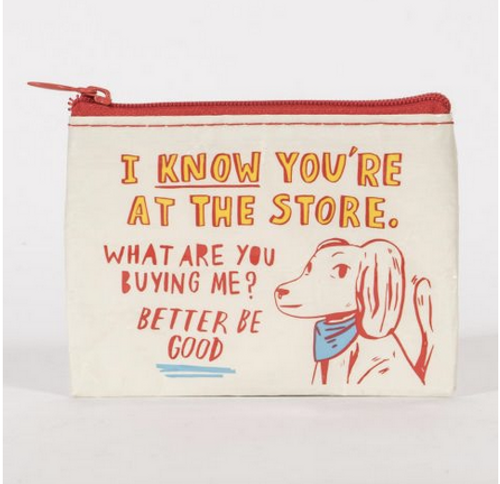 at the store pouch