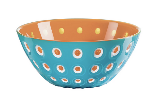 le murrine bowl blue orange