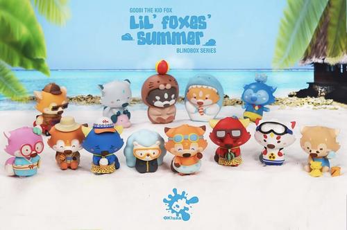 popmart goobi lil foxes summer 1