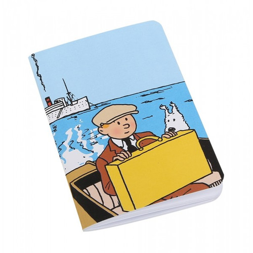 tintin notebook boat small