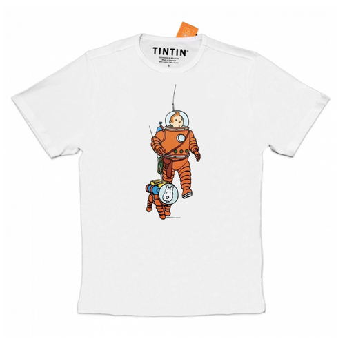 tintin tshirt astronauts cosmonautes