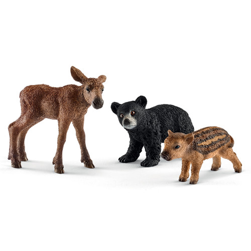 schleich-wild-life-forest-animal-babies
