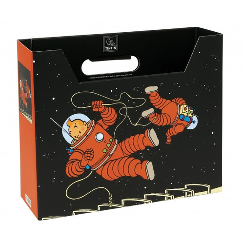tintin file box space