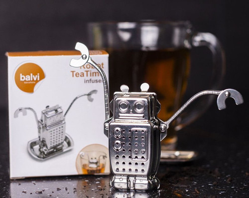 robot tea time