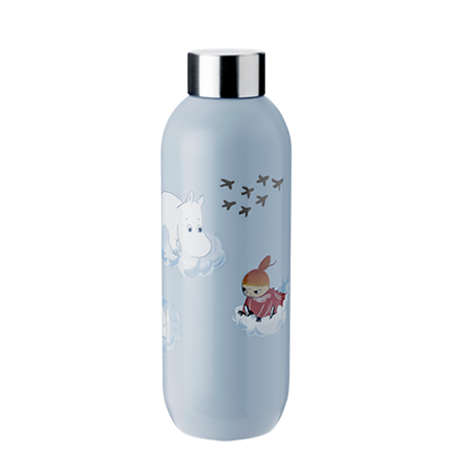 moomin cloud keep cool bottle .75l
